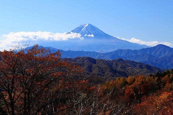 大菩薩嶺 富士見平