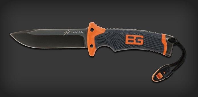 ガーバーの黒いナイフ