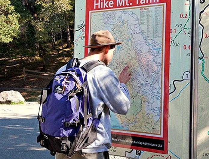 グレゴリーのデイアンドハーフでハイキング