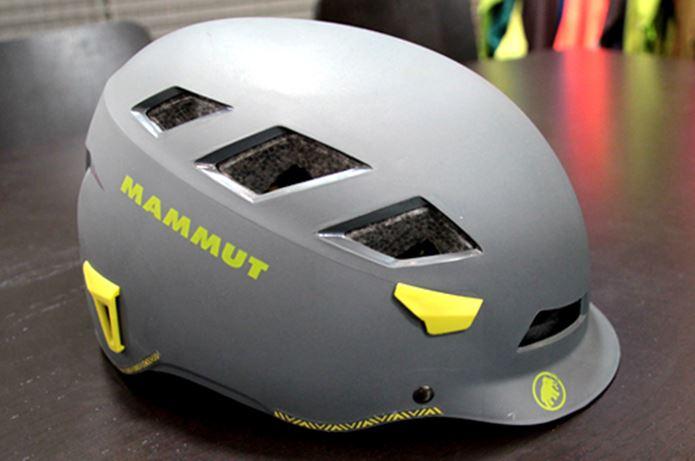 マムートのヘルメット