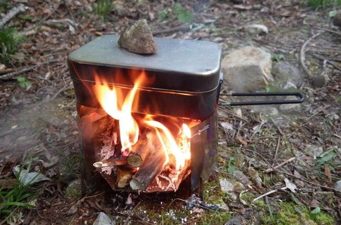 ライスクッカーで炊飯