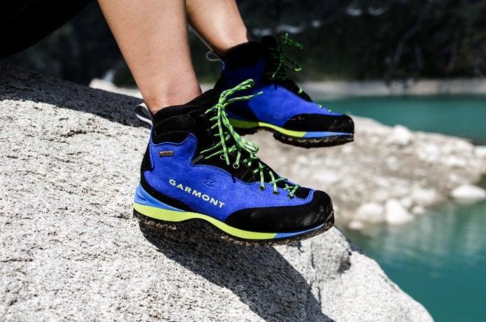 ガルモントの登山靴