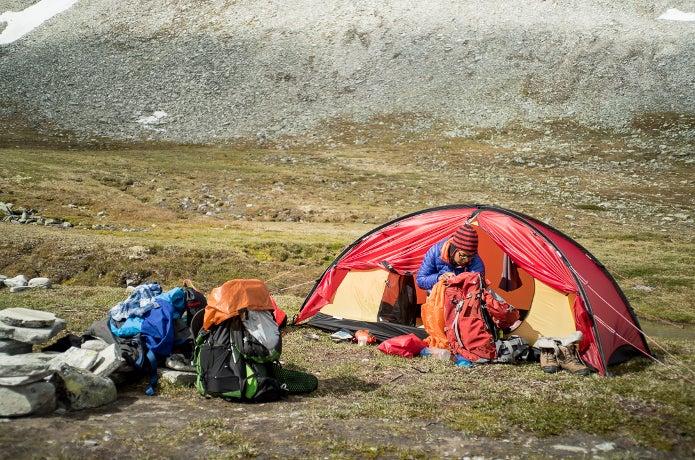 ヒルバーグのテント
