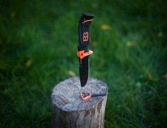 ガーバーのサバイバルナイフ