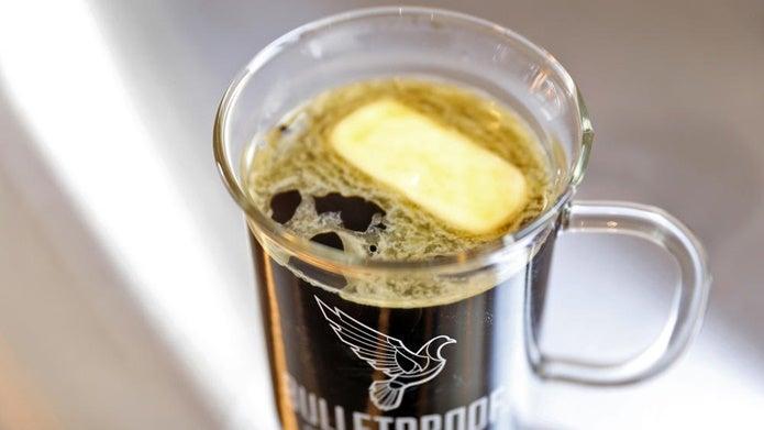 バターコーヒーができあがる