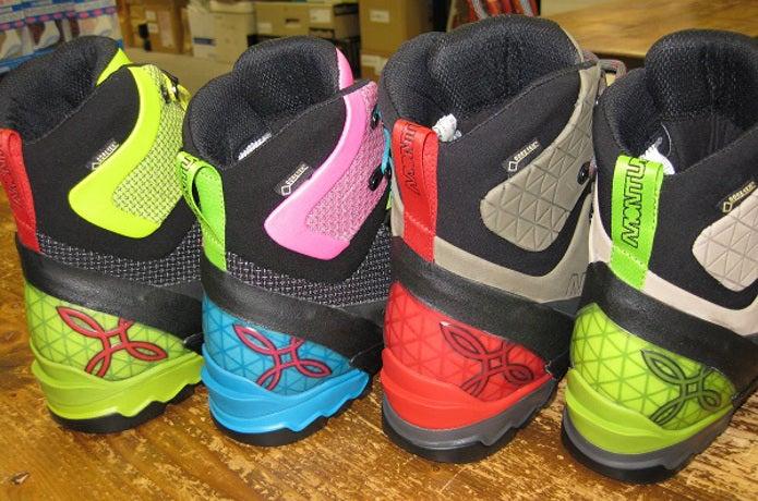 モンチュラの靴