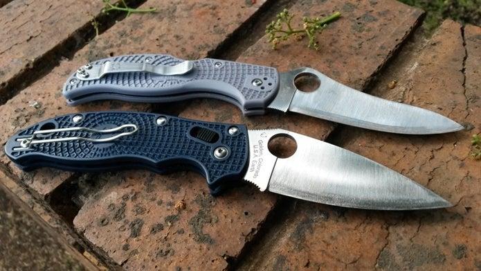 スパイダルコのナイフ2種類