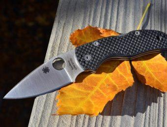 スパイダルコのナイフ