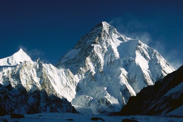 世界最難関の山、K2