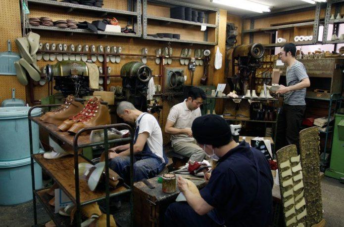 マムートの登山靴を修理する