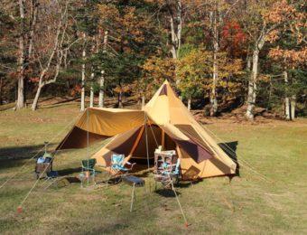 ノースイーグルのテントと用品