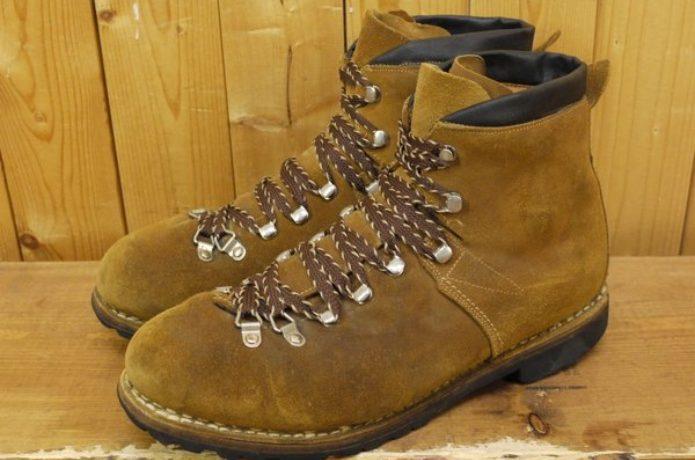 """マムートの登山靴の前身""""ライケル""""の靴"""