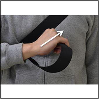メッセンジャーバッグの使い方1