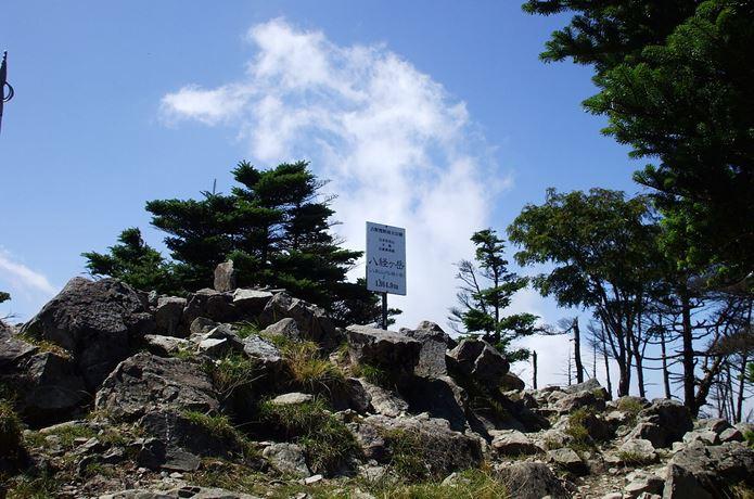 関西のハイキングで人気な八経ヶ岳