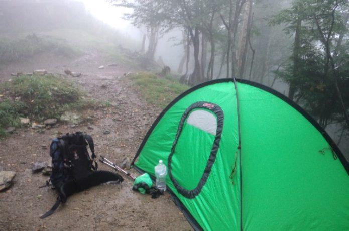 エスパースのテント
