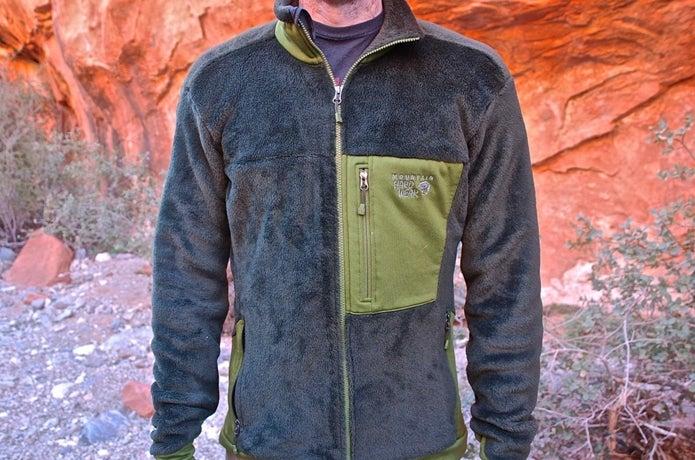 マウンテンハードウェアのフリースジャケット