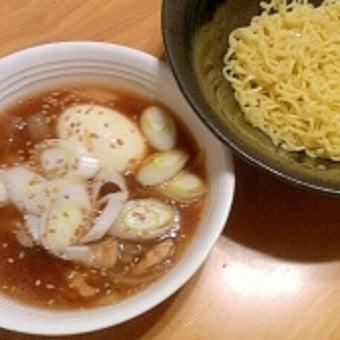 マルちゃん正麺でつけ麺