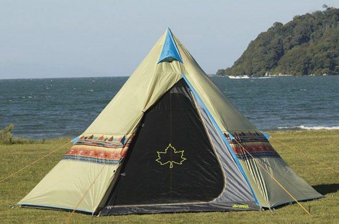 ロゴスのかわいいテント