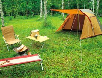 スノーピークのテントアメニティドーム