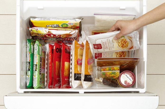 シリコンボトルを冷凍庫に入れる