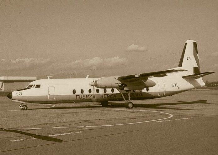 ウルグアイ空軍機571便