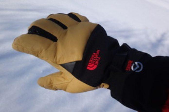 ノースフェイスの雪山用手袋