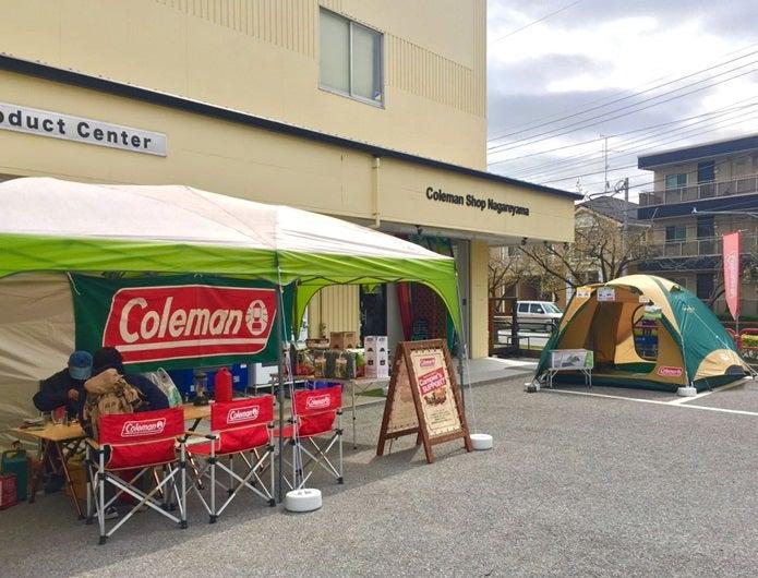 コールマン、流山のアウトレット店舗外観