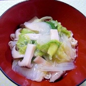 野菜あんかけラーメン