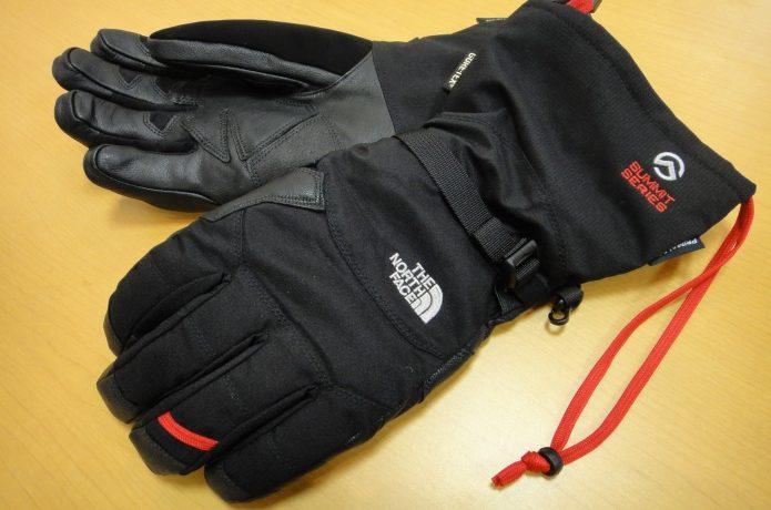 ノースフェイスのミドル・アウター用手袋