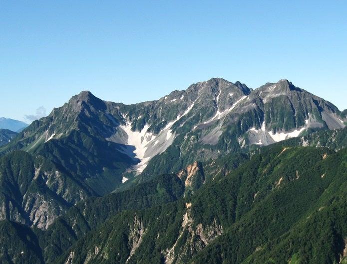 映画の岳の舞台