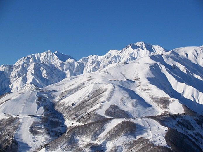 映画の岳の舞台になった山