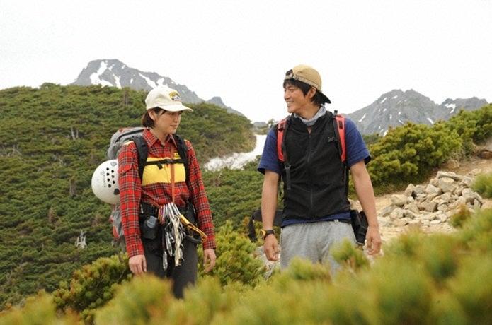映画の岳の登場人物2人