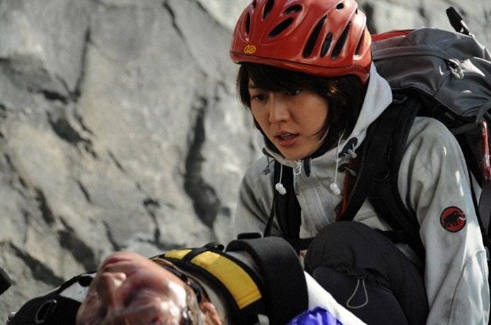 映画の岳の最初のシーン