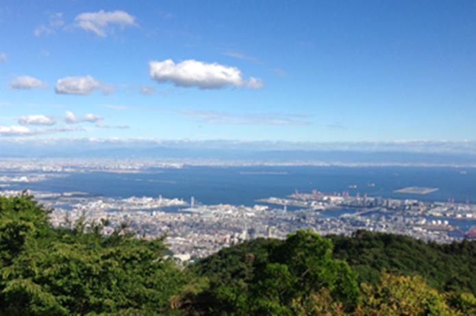 関西ハイキングでおすすめスポットの六甲山