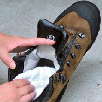 登山靴をお手入れする