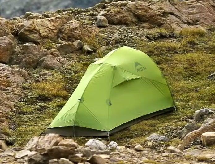 MSRの山岳テント