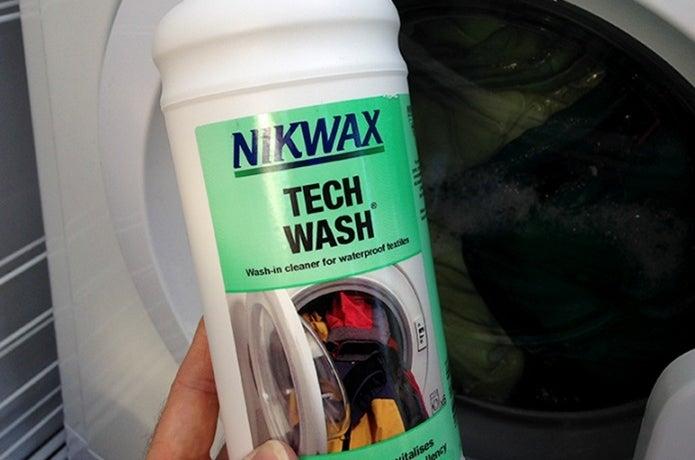 ニクワックスで洗濯する