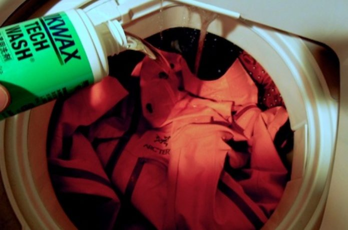 ニクワックスを洗濯機で使う