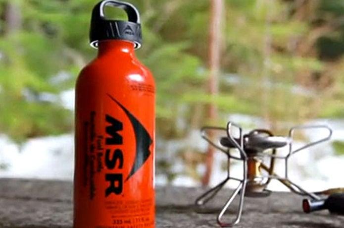 MSRの燃料用アルコール