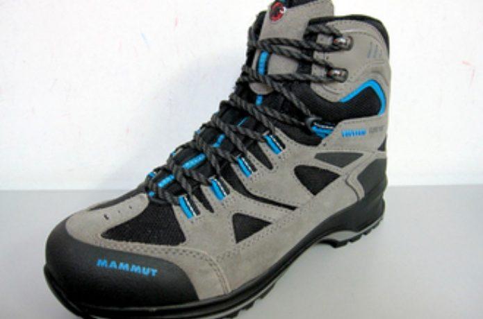 マムートの登山靴であるテトンGTX