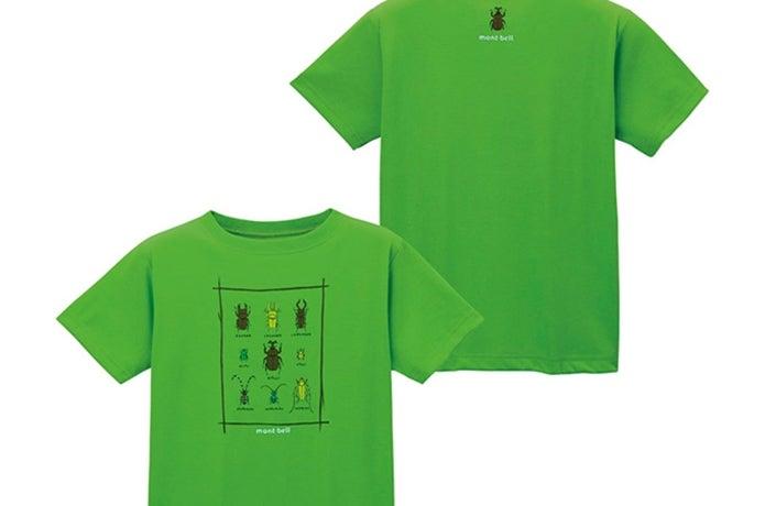 モンベルのTシャツ