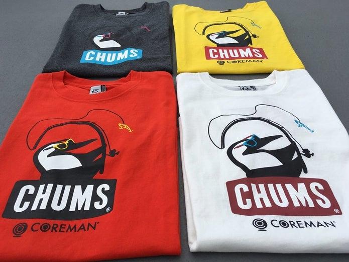 コアマンとのコラボTシャツ