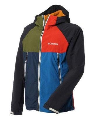 コロンビアのカラフルなジャケット