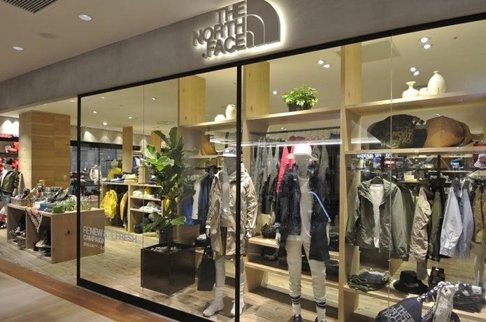ノースフェイスエスパル仙台東館店