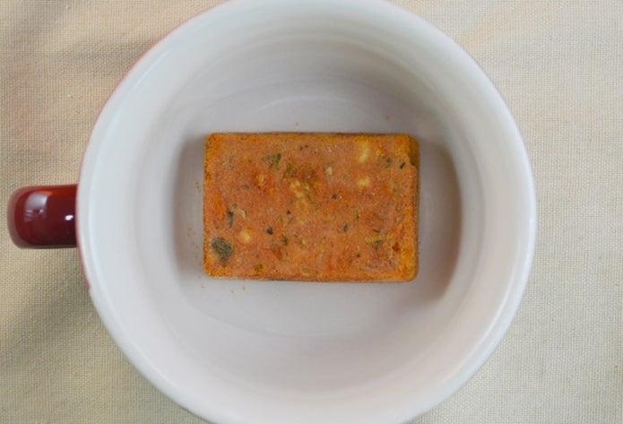 フリーズドライの野菜スープ