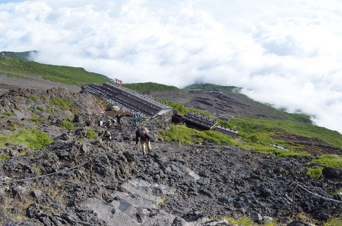 富士山の登山道