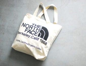 ノースフェイスのトートバッグ