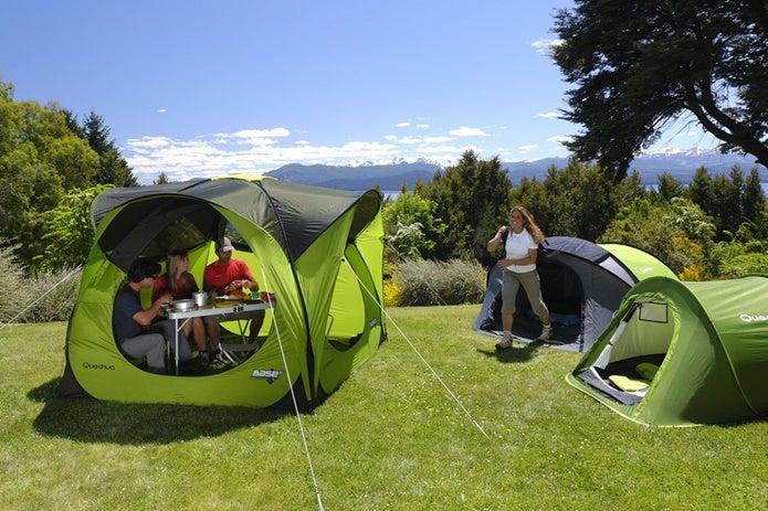 ケシュアのテントを使っている人たち