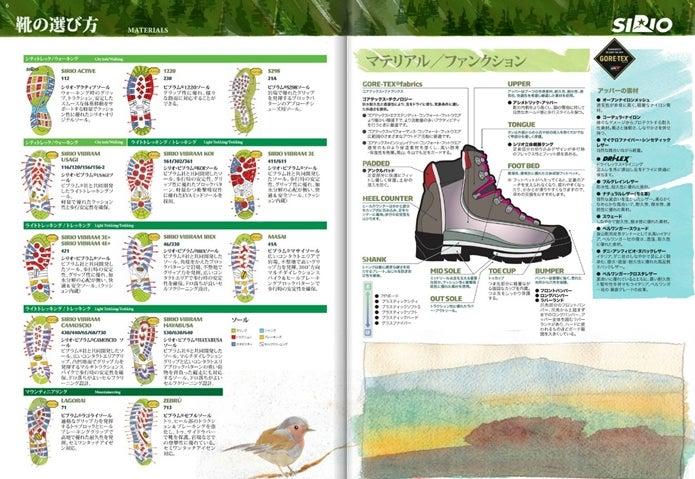 シリオの登山靴の説明
