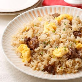 レトルトご飯のチャーハンレシピ